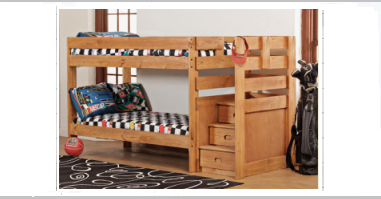 Beautiful low priced bunk bed